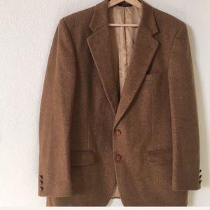 Burberry's | vintage camel hair blazer jacket